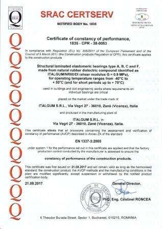 Certificazione DoP